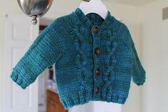 Ravelry: Ronan Cardigan pattern by Triona Murphy