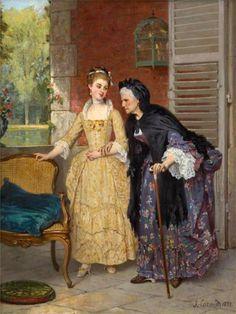 Французский живописец Joseph Caraud (1821 - 1905)