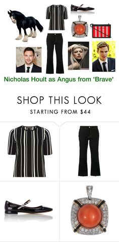 """Disney dream cast: Nicholas Hoult as Angus from 'Brave'"" by sarah-m-smith ❤ liked on Polyvore featuring Dorothy Perkins, JOUR/NÉ, Marc Jacobs and Balenciaga"