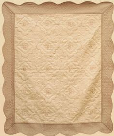 ONLY TWO AT THIS PRICE  Cotton Quilt Throw Cover Up Vintage Design Ivory &…