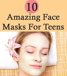 Masks For Teens To Thirties 10 Amazing Face Masks For Teens. wish I saw t house this Amazing Face Masks For Teens. wish I saw t house this sooner The Face, Face And Body, Homemade Face Pack, Homemade Recipe, Beauty Hacks For Teens, Facial Care, Facial Diy, Tips Belleza, Belleza Natural
