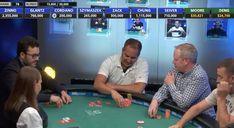 Matt Glantz stacking chips Ev52 final table, 10k limit hold'em. Good luck. #WSOP #Poker