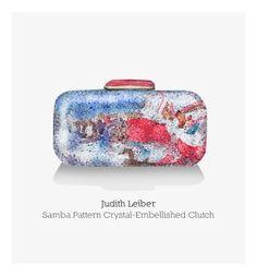 Handbags are a girl's best friend by Silvia Cairol, via Behance Girls Best Friend, Best Friends, Clutch Handbags, How To Make Handbags, Judith Leiber, Samba, Behance, Crystals, Pattern