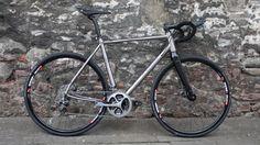 J.ACK titanium road bike by J.Laverack - first look....... New titanium bike designed to take on the classics