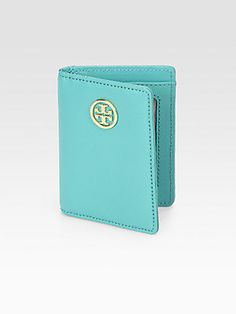 @Tory Burch Leather Passport Holder