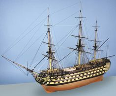 You might want to build a few model ships and practise your skills before taking on this bad boy. It is challenging, it is time consuming, but you don't do this because it's easy. Caldercraft's HMS Victory is the model that many aspire to build. Wooden Boat Kits, Wooden Model Kits, Wooden Boat Plans, Wooden Boats, Model Ship Building, Boat Building, Building Plans, Model Ship Kits, Scale Model Ships