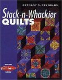 Stack n Whackier Quilts. Twelve new projects with the same easy-to-follow format as Magic Stack-n-Whack® Quilts. This book covers basic Stack-n-Whack methods as well as Stack-n-Select and Magic Mirror Image techniques to expand the possibilities. A must for every rotary quilting fan's library! http://www.kayewood.com/item/Stack_n_Whackier_Book/2120/m125 $21.95