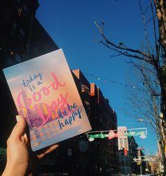 The artblock says it all.  #originalartwork #inspirationalquote #happy #inspiration #mondayblues