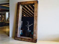 I MUST HAVE THIS  beam mirror from environment furniture $call for price