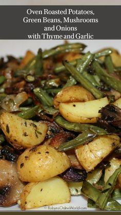 Potato Dishes, Veggie Dishes, Veggie Food, Healthy Vegetable Side Dishes, Grilled Vegetable Kabobs, Healthy Dinner Sides, Vegetarian Side Dishes, Veggie Meals, Vegetarian Recipes