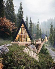 SK-Architekci Krkonoše, Poland • • Sognando il #prossimoweekend 🤗🤗🤗 #inmezzoalmondo #inmezzoallanatura #casaincampagna #starecongliamici #familytime #naturelover #nature #natura #casa #verde #foresta #alberi #vacanze #vacanzeinmont