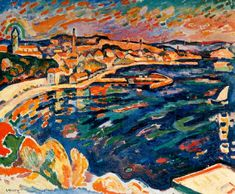 BRAQUE | Le Port de L'Estaque, 1906