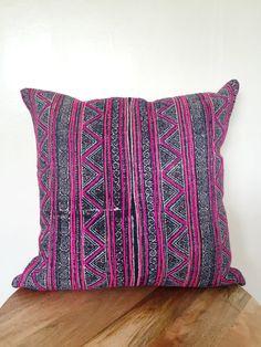 Vintage Hmong Pillow Cover 20x20