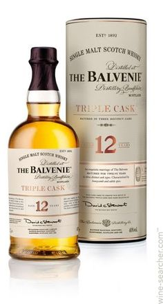 Picked up a liter on the cruise: The Balvenie Triple Cask 12 Year Old Single Malt Scotch Whisky, Speyside, Scotland
