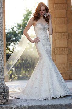 Style 721 by Martina Liana. #wedding #dress #embellished #fishtail