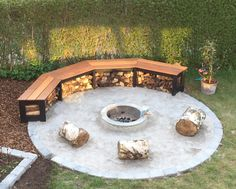 Lav en bålplads i haven! Make a firepit in your garden!