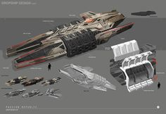 Heavy dropship design.