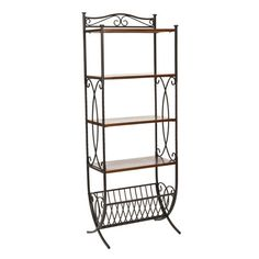 I pinned this Ellington Etagere from the Rustic Revival event at Joss and Main!