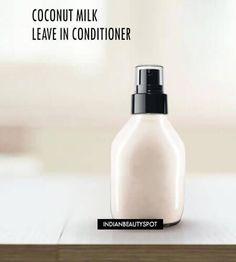 Homemade Coconut Milk Leave in Spray on Conditioner