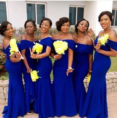 Cheap Bridesmaid Dresses, Buy Directly from China Suppliers:Royal Blue Bridesmaid Dresses For Women Black Girls Off Shoulder Long Wedding Guest Dress Party For Women Vestido Madrinha Enjoy ✓Free Shipp Royal Blue Bridesmaid Dresses, Mermaid Bridesmaid Dresses, Wedding Bridesmaid Dresses, Mermaid Dresses, Wedding Party Dresses, Wedding Attire, Dress Party, Black Bridesmaids, Prom Dresses
