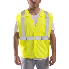 Objective Black Safety Vest High Visibility Breathable Mesh Pvc Tape Outdoor Clothes With Traditional Methods Workplace Safety Supplies Security & Protection