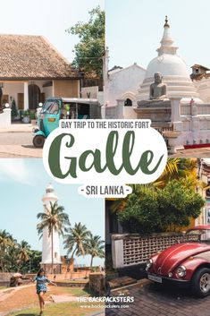 How to do a day trip to Galle Fort, Sri Lanka | Things to see in Galle | What to do in Galle | Why you must visit Galle Fort | Best ways to go to Galle | How many hours to spend at Galle Fort | Cafes in Galle Fort | Where to eat in Galle? Historic fort, #Galle | #thebackpacksters #travel #travelguide #budgettips #travelblog #colourfulstreets Travel Guides, Travel Tips, Travel Destinations, Budget Travel, Thailand Travel, Asia Travel, Places Around The World, Around The Worlds, Backpacking Asia