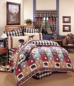 The Woods Comforter Set Size: Queen