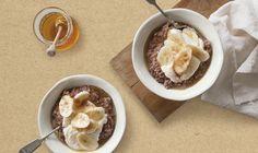 hot choc porridge