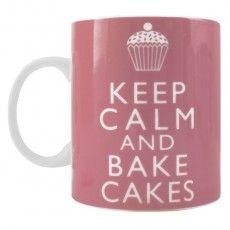Keep Calm & Bake Mug