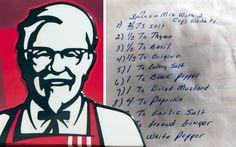 KFC kryddblanda