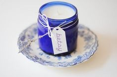 DIY Wedding Favors: DIY Homemade Candle Favors
