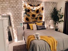 33 Vintage Bedroom Decor Ideas to Turn your Room into a Paradise - The Trending House Cute Bedroom Ideas, Cute Room Decor, Room Ideas Bedroom, Girls Bedroom Ideas Teenagers, Uni Bedroom, Cool Teen Bedrooms, Cheap Room Decor, Dorm Room Walls, Teenage Girl Bedrooms