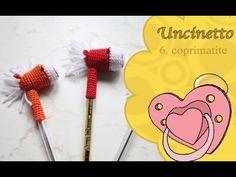 Uncinetto bimbi 6: coprimatite - YouTube