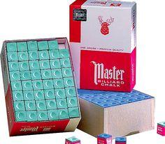 Master Chalk - gross box...won't need chalk again any time soon! http://www.BilliardFactory.com/Master-Chalk-Gross-Box