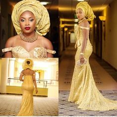 Mostly though, weddings are the perfect opportunity to stunt on lesser mortals – and Nigerians LOVE that. | 67 Nigerian Brides Who Absolutely Killed It