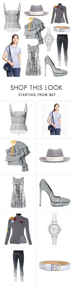 """""""Everything is Style"""" by cate-jennifer ❤ liked on Polyvore featuring Thom Browne, Brooks Brothers, Rosie Assoulin, Maison Michel, Dolce&Gabbana, Yves Saint Laurent, Christopher Kane, DKNY, Reebok and vintage"""