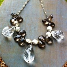 Rock Crystal and Sterling Silver Sautoir £139.00