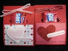 Valentine treat holder
