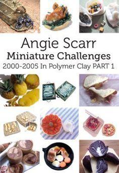 Dollhouse Miniature Angie Scarr Peeled Apple in Progress 1:12 Scale