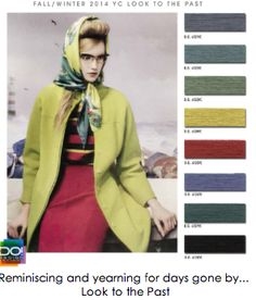 DESIGN OPTIONS F/W 2014- LOOK TO THE PAST