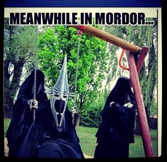Meanwhile in Mordor...