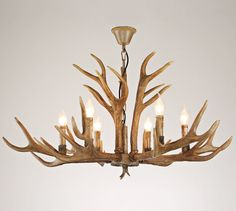 Cheap modern led, Buy Quality lights style directly from China living room Suppliers: Ganeed Vintage Style Resin Antler Chandelier Modern LED Antler Chandelier Living Room Bar Villas Retro Deer Horn Pendant Lights Chandelier Creative, Diy Chandelier, Modern Chandelier, Pendant Lighting Bedroom, Chandelier In Living Room, Pendant Lights, Deer Antler Chandelier, Living Room Bar, Deer Horns