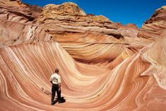 The Wave, Utah | 28 Incredibly Beautiful Places You Won't Believe Actually Exist