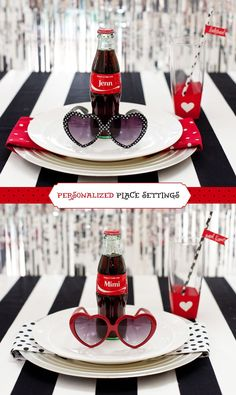 Retro Glam Bridesmaid Luncheon & Gift Ideas {+ Free Printables} #ShareaCokeContest More