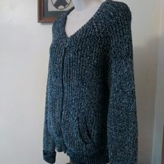 Calvin Klein Cozy Sweater Calvin Klein black knit sweater. Beautiful zipper closure with pockets. Never worn.. New without tags. Size Medium. Calvin Klein Sweaters Cardigans