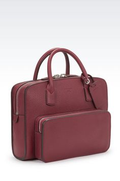GIORGIO ARMANI PRIVATE BAG BRIEFCASE: Briefcases Men by Armani - 2
