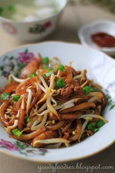 GoodyFoodies: Recipe: Stir fried loh shi fun 老鼠粉