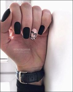 amazing natural summer square nails design for short nails . - amazing natural summer square nails design for short nails – page 16 … – Dreher Blo - Square Nail Designs, Short Nail Designs, Fall Nail Designs, Nail Design For Short Nails, Matte Nail Designs, Cute Acrylic Nails, Cute Nails, Pretty Nails, Matte Nail Art