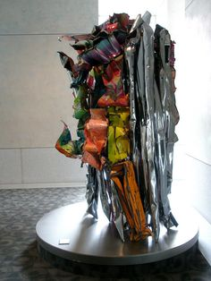 John Chamberlain 'Disguise the Limit', 1991, The Capella Tower, 225 South Street, Minneapolis, Minnesota     See the best   shows in     NYC with https://www.artexperiencenyc.com