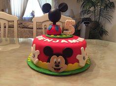 Pastel de Mickey Mouse!